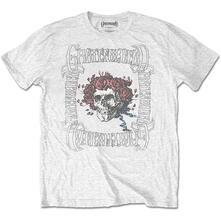 T-Shirt Unisex Tg. M. Grateful Dead: Bertha With Logo Box White