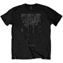 T-Shirt Unisex Tg. 2XL. Korn: Knock Wall