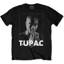 T-Shirt Unisex Tg. S Tupac: Praying