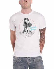 T-Shirt Unisex Tg. S. Britney Spears: Classic Circle