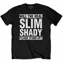 T-Shirt Unisex Tg. XL. Eminem: The Real Slim Shady