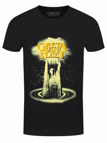 T-Shirt Unisex Tg. 2XL. Greta Van Fleet: Cinematic Lights