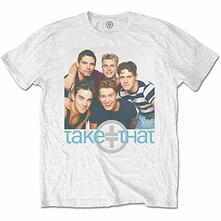 T-Shirt Unisex Tg. M. Take That: Group Hug