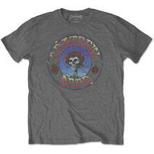 T-Shirt Unisex Tg. XL. Grateful Dead: Bertha Circle Vintage Wash