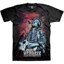 T-Shirt Unisex Tg. L Jimi Hendrix: Universe
