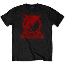 T-Shirt Unisex Tg. 3XL Black Sabbath: Europe '75