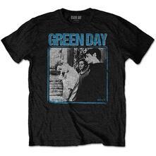 T-Shirt Unisex Tg. S. Green Day: Photo Block