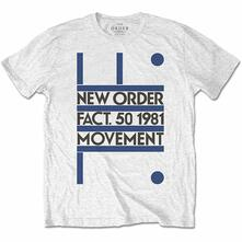 T-Shirt Unisex Tg. XL. New Order: Movement