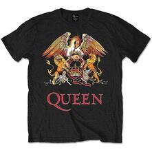 T-Shirt Unisex Tg. 3XL. Queen: Classic Crest