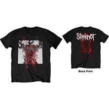 T-Shirt Unisex Tg. 3XL Slipknot: Devil Single Logo Blur