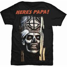 T-Shirt Unisex Tg. L Ghost: Here'S Papa