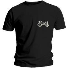 T-Shirt Unisex Tg. 2XL Ghost: Pocket Logo