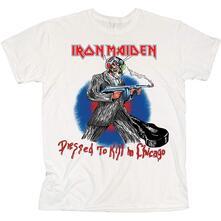 T-Shirt Unisex Tg. L Iron Maiden: Chicago Mutants