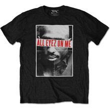 T-Shirt Unisex Tg. 3XL Tupac: All Eyez
