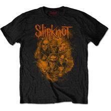 T-Shirt Unisex Tg. M Slipknot: Wanyk Orange