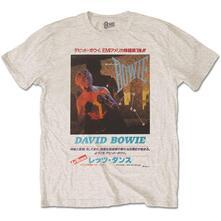 T-Shirt Unisex Tg. XL David Bowie: Japanese Text