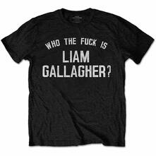 T-Shirt Unisex Tg. 3XL Liam Gallagher: Who The Fuck