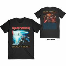 T-Shirt Unisex Tg. S Iron Maiden: Two Minutes To Midnight