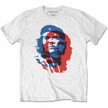 T-Shirt Unisex Tg. 2XL Che Guevara: Blue And Red