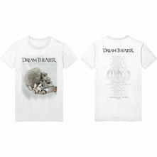 T-Shirt Unisex Tg. L Dream Theatre: Skull Fade Out