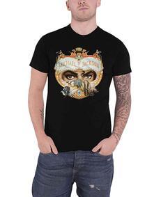 T-Shirt Unisex Tg. M Michael Jackson. Dangerous