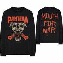 Maglia Manica Lunga Unisex Tg. 2XL Pantera: Mouth For War