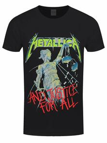 T-Shirt Unisex Tg. S. Metallica - And Justice For All