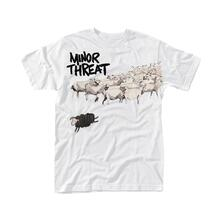 T-Shirt Unisex Tg. S. Minor Threat: Out Of Step