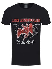 T-Shirt Unisex Tg. 2XL. Led Zeppelin: 50Th Anniversary