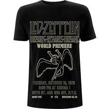 T-Shirt Unisex Tg. XL. Led Zeppelin: Tsrts World Premier