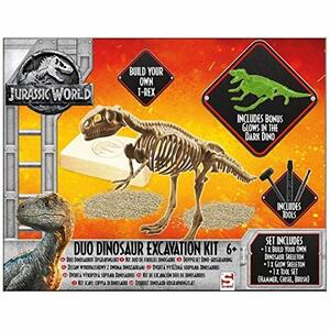 Jurassic World. Duo Dinosaur Excavation Kit
