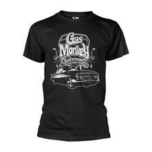 T-Shirt Unisex Tg. 2XL Gas Monkey Garage. Vintage Car