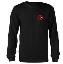 Maglia Manica Lunga Unisex Marvel Deadpool. Fade Out Logo