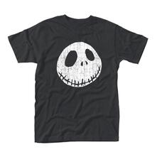 T-Shirt Unisex Cracked Face Nightmare Before Christmas