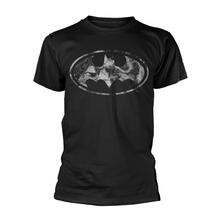T-Shirt Unisex Dc Originals. Marble Batman Logo