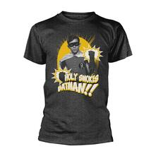 T-Shirt Unisex Tg. 2XL Dc Originals. Batman. Robin Holy Smokes
