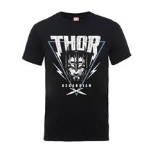 T-Shirt Unisex Tg. 2XL Marvel Thor Ragnarok. Asgardian Triangle