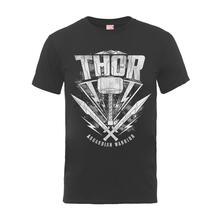 T-Shirt Unisex Tg. S Marvel Thor Ragnarok. Thor Hammer Logo