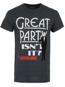 T-Shirt Unisex Shining. Great Party. Taglia L