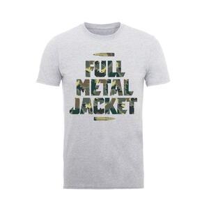 T-Shirt Unisex Full Metal Jacket. Camo Bullets. Taglia XL
