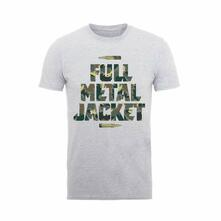 T-Shirt Unisex Full Metal Jacket. Camo Bullets. Taglia XL