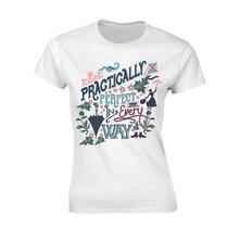 T-Shirt Donna Tg. S Disney - Mary Poppins Practically