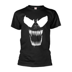 T-Shirt Unisex Tg. L Marvel Venom - Bare Teeth