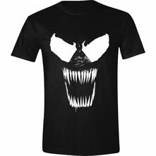 T-Shirt Unisex Tg. S Venom - Bare Teeth Black