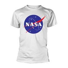 T-Shirt Unisex Tg. XL Nasa - Insignia Logo White