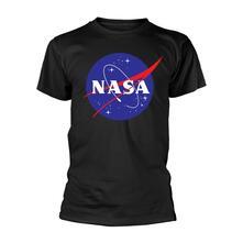 T-Shirt Unisex Tg. L Nasa - Insignia Logo Black
