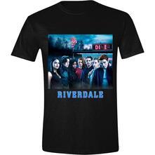T-Shirt Unisex Tg. M Riverdale: Cover Black
