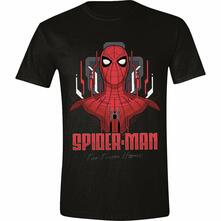T-Shirt Unisex Tg. L. Spider-Man: Far From Home - Tech Focus Black