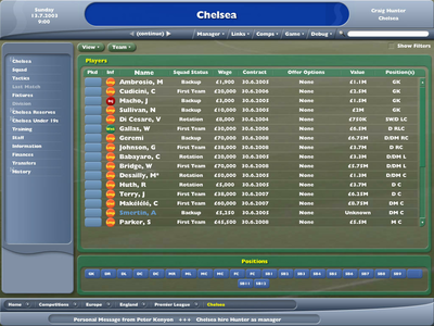 Videogioco Football Manager 2005 Personal Computer 1