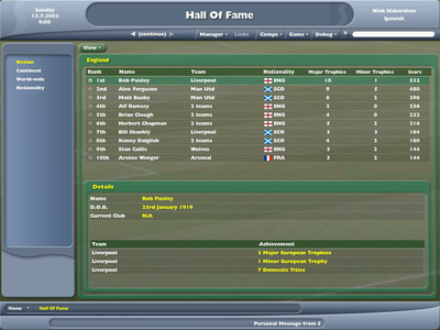 Videogioco Football Manager 2005 Personal Computer 2